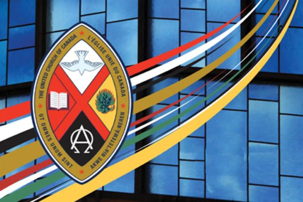 Crest of the United Church of Canada.